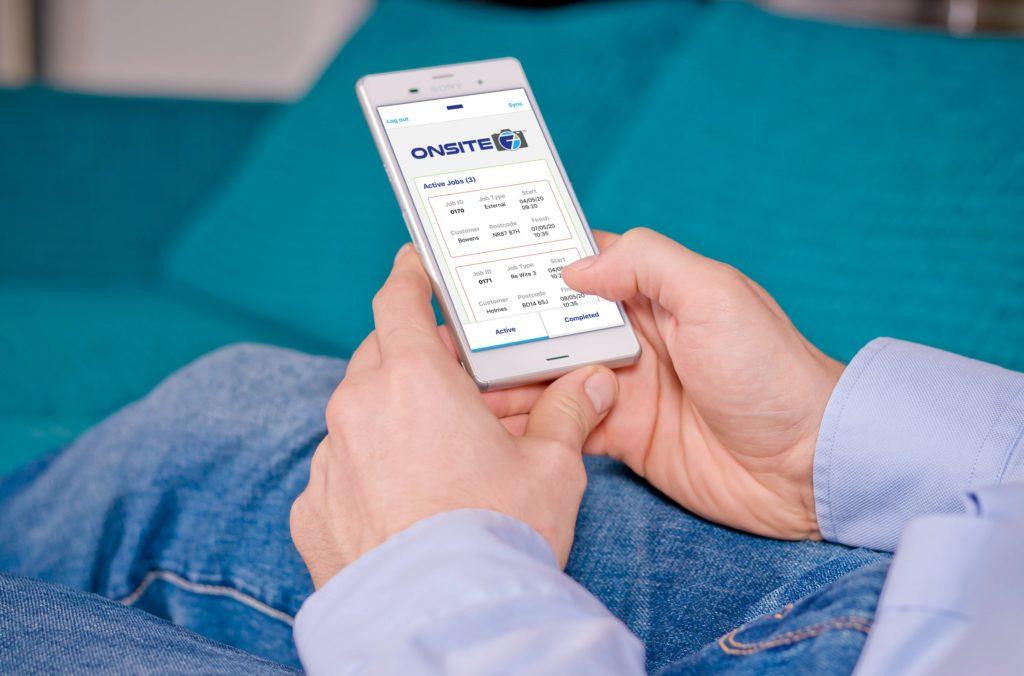 Mockup - Smartphone Sony - Dashboard 01