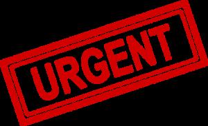 Urgent Sticker 3